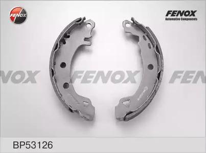 Комплект тормозных колодок FENOX