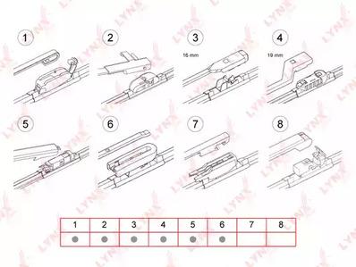 XF600 - LYNXauto - Щетка стеклоочистителя: цена, купить в Минске