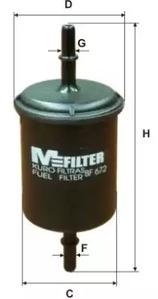 Топливный фильтр MFILTER
