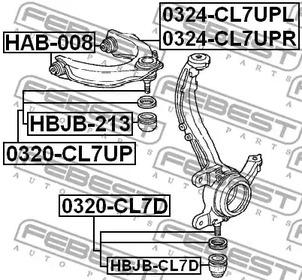 Шаровая опора FEBEST 4674_0320-CL7D_SC.jpg