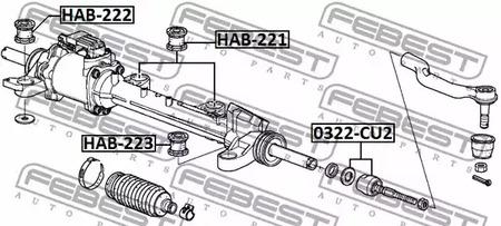 Рулевая тяга FEBEST 4674_0322-CU2_SC.jpg