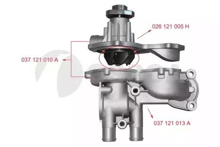 Водяной насос (помпа) OSSCA